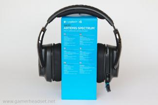 Logitech G633 Gaming-Headset frontal