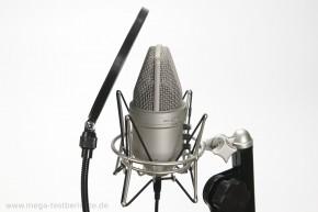studiomikrofon samson g-track seitlich
