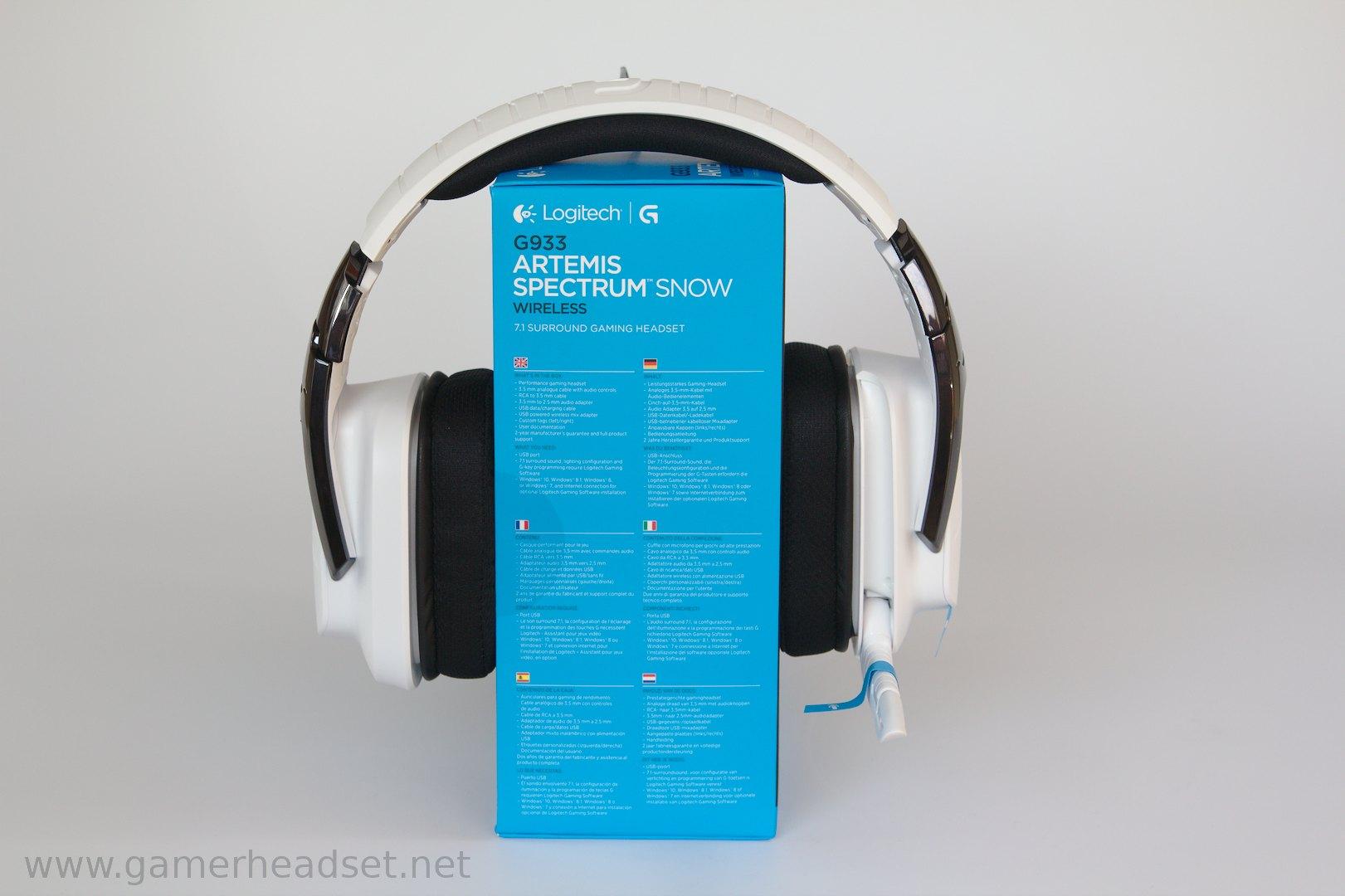 Logitech G on Logitech Usb Headset