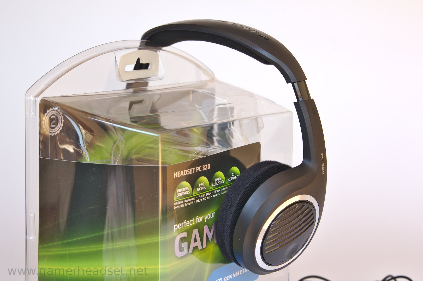 sennheiser pc 320 im test gamer headset. Black Bedroom Furniture Sets. Home Design Ideas